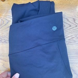 Lululemon Wunder Under Navy Pants